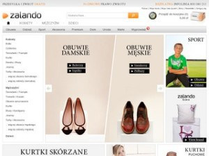 Strona zalando.pl