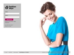 Strona fashiondays.pl